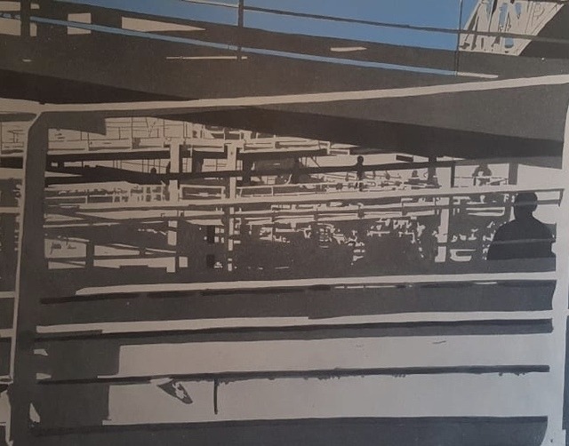 , 'Cela Exterior,' 2018, MOV'ART Gallery