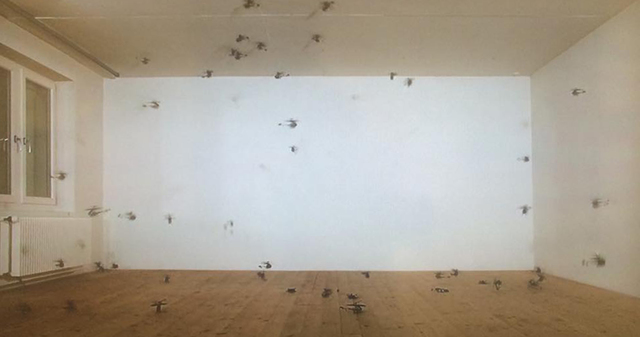 , '56 kleine Helikopter (56 Small Helicopters) ,' 2008, Jane Lombard Gallery