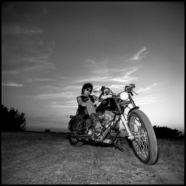 David Michael Kennedy, 'Bob Dylan on Bike', 1985, Gallery 270