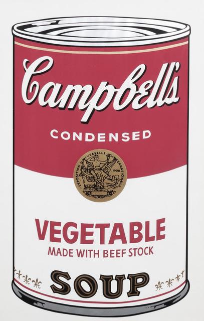 Andy Warhol, 'Campbell's Soup I: Vegetable', 1968, Print, Screenprint, Susan Sheehan Gallery