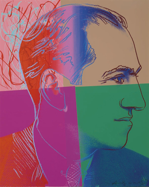 , 'George Gershwin 231 by Andy Warhol,' 1980, Revolver Gallery
