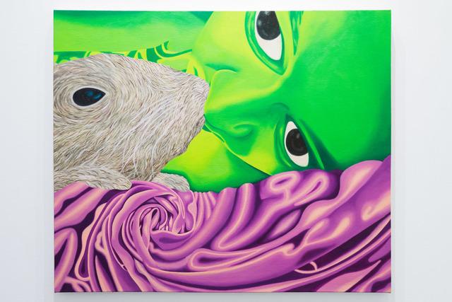 , 'Bunny Kiss,' 2018, YUI Gallery