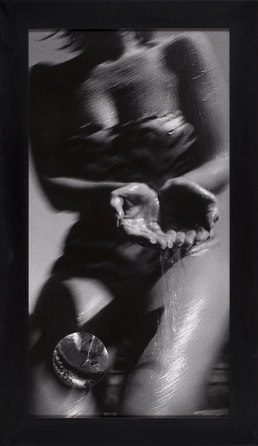 , 'Beetles, Leaf in water,' 1989, CFHILL