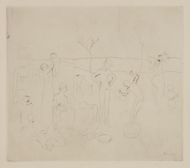 Pablo Picasso, 'Les Saltimbanques, from La suite des Saltimbanques', 1905, Phillips