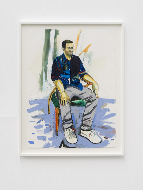 , 'Steve,' 2018, Buchmann Galerie