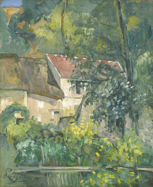 Paul Cézanne, 'House of Père Lacroix', 1873, National Gallery of Art, Washington, D.C.