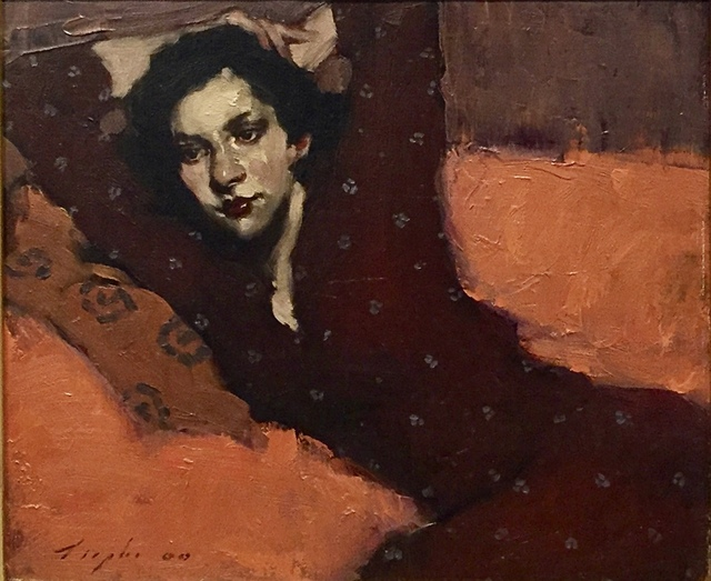 , 'Girl On Sofa ,' 2000, Off The Wall Gallery
