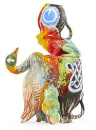 "Large sculpture, ""Animalkind"""