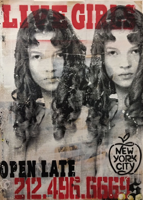 , 'Live Girls - Open Late ,' 2017, Maddox Gallery