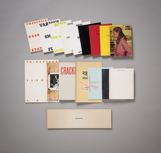 , 'A complete & signed collection of Ed Ruscha first edition artists' books,' 1963-1978, ARCHEUS/POST-MODERN