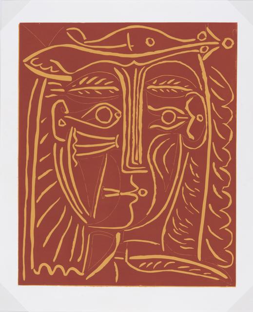 Pablo Picasso, 'Tête de Femme au Chapeau/Paysage', 1962, Odon Wagner Gallery