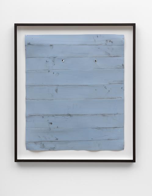 , 'Papierarbeit (blau) #3, Januar 2018,' 2018, FELD+HAUS