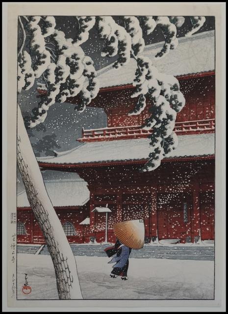 , 'Zojoji Shiba,' 1925, Verne Collection, Inc.