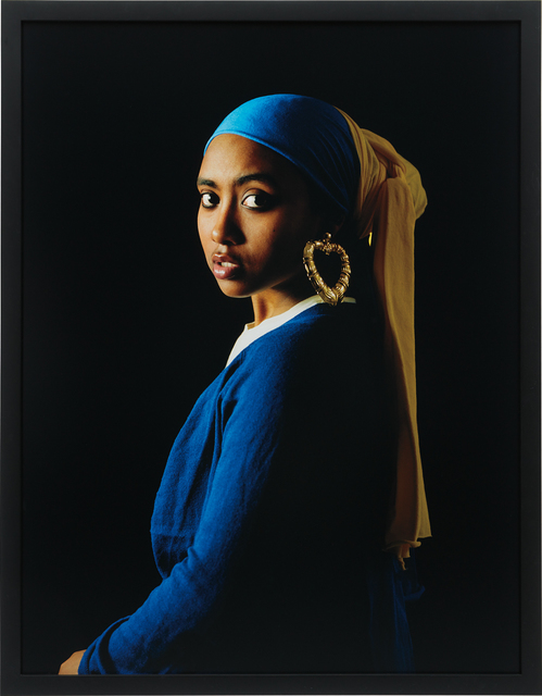 Awol Erizku, 'Girl with a Bamboo Earring', 2009, Phillips