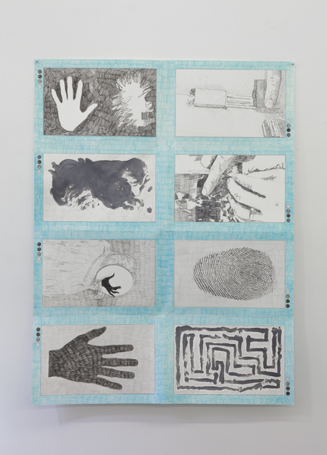 , '#126, A book about hands and their traces,' 2017, Tatjana Pieters