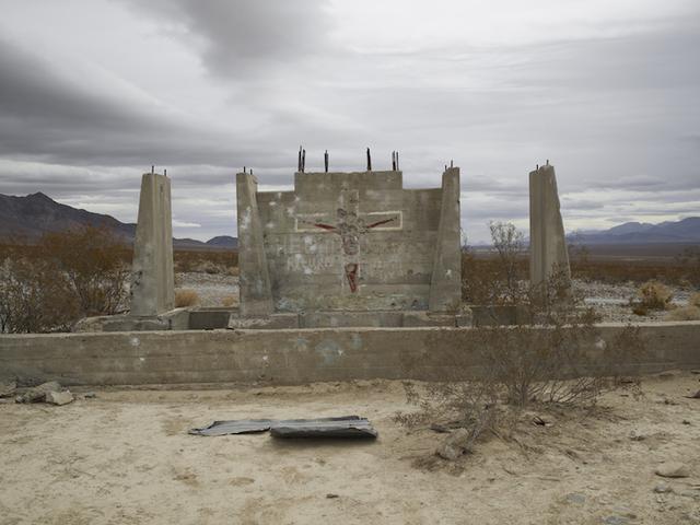 ", 'Shotgun Practice, ""He will return,"" Nevada,' 2009, Marc Selwyn Fine Art"