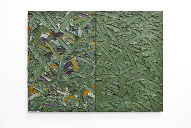 , 'Abstract Diptych #47 ,' 2017, Telluride Gallery of Fine Art