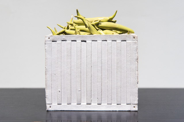 , 'Food For Thought: Snow Peas,' 2016, Studio 21 Fine Art