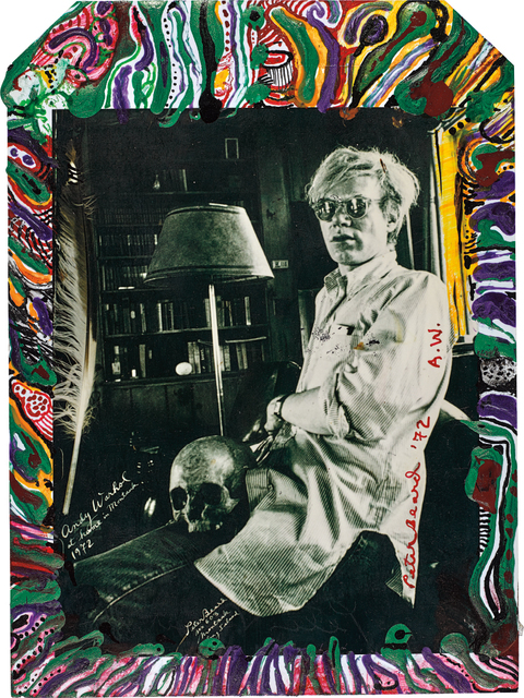 Peter Beard, 'Andy Warhol at Home in Montauk', 1972-executed later, Phillips