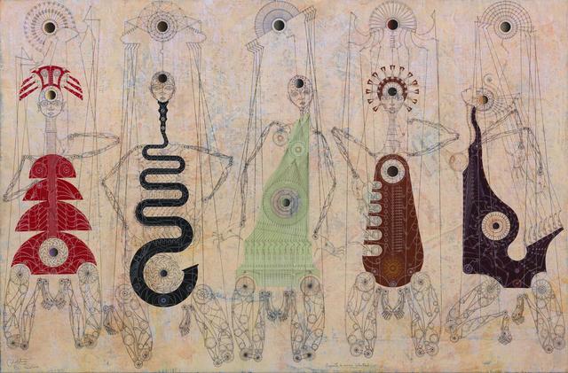 , 'Orquesta de cámara celestial,' 2015, Enlace Arte Contemporáneo