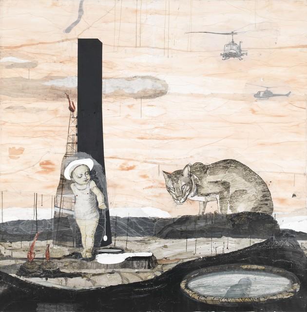 , 'Stunde der Dämonen,' 2015, Galerie Haas AG