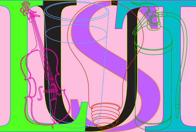 Michael Craig-Martin, 'Lust', 2008, Cristea Roberts Gallery