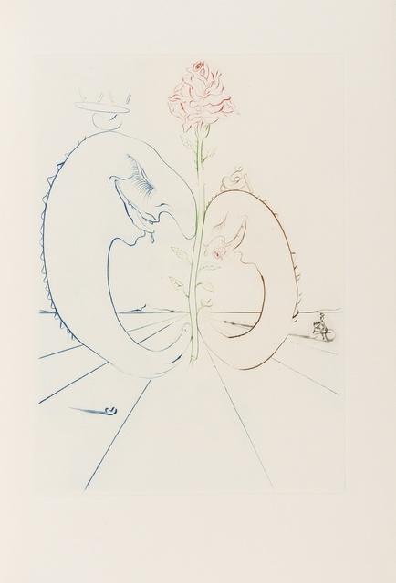Salvador Dalí, 'Babaouo (Field 78-2; M&L 932d & 1543-1549d)', 1978, Forum Auctions