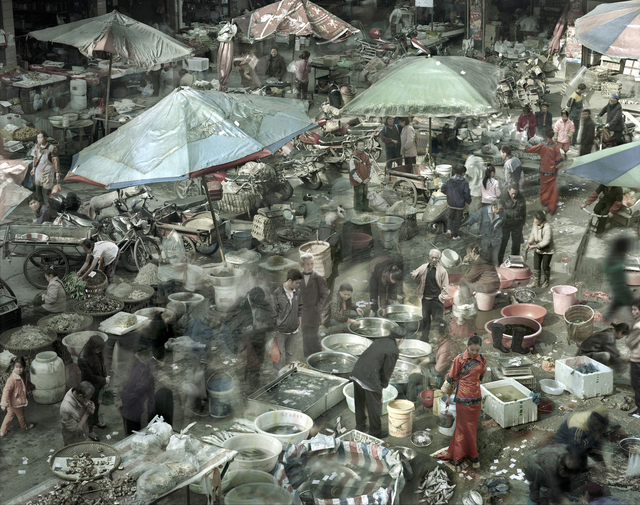 Qin Wen, 'Sea Food Market, Chongqing', 2011, Hyperion Press Ltd.