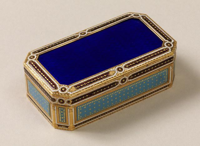 'Enameled snuff box', ca. 1785, Cooper Hewitt, Smithsonian Design Museum