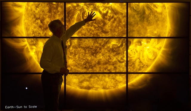 """Dr. Mark Weber and Dr. Henry """"Trae"""" Winter III, 'Solar Wall', 2010, Cooper Hewitt, Smithsonian Design Museum"""