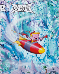 Kenny Scharf, 'El Roi est Arrivé,' 2011, Phillips: 20th Century and Contemporary Art Day Sale (February 2017)