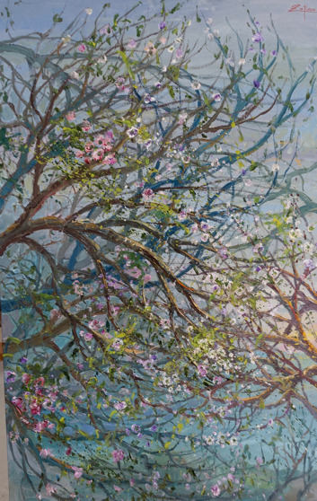 , 'Flowering Branches by the Sea,' 2017, Galerie d'Orsay