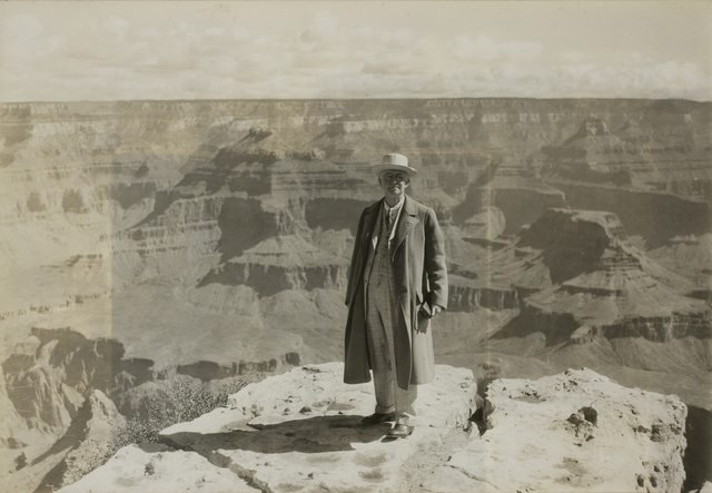 , 'George Eastman at the Grand Canyon,' July 12-1930, George Eastman Museum