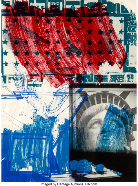 Robert Rauschenberg, 'People for the American Way', 1991, Heritage Auctions