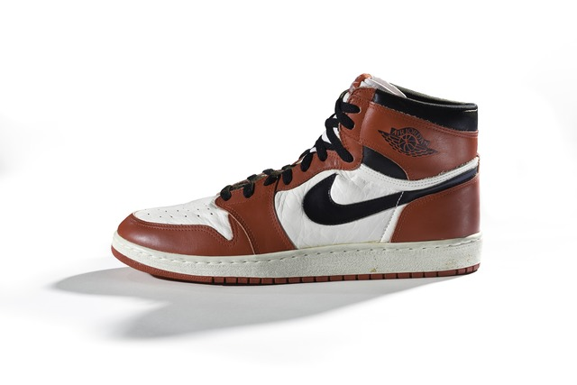 , 'Nike, Air Jordan I,' 1985, American Federation of Arts