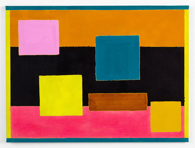 Russell Tyler, 'Yellow geometry', 2019, Galerie Nicolas Robert
