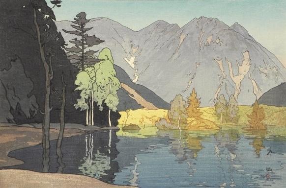 , 'Twelve Scenes in the Japan Alps: Mount Hodaka,' 1926, Scholten Japanese Art