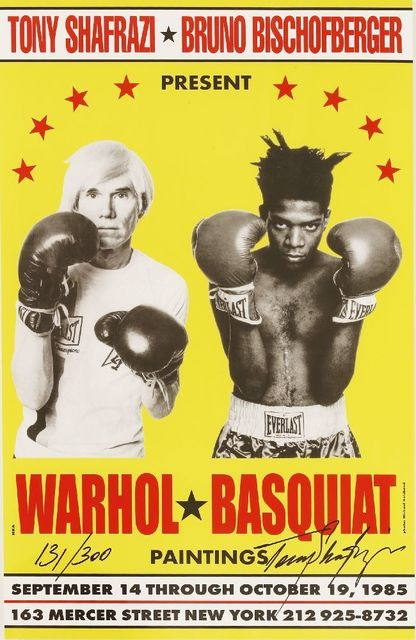 Andy Warhol, 'Poster For Warhol/Basquiat Paintings', 1985, Sworders