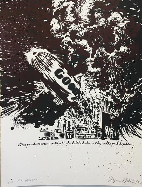 , 'No Title (Goodyear) - (by Raymond Pettibon & Victor Gastelum),' 2002, The LODGE