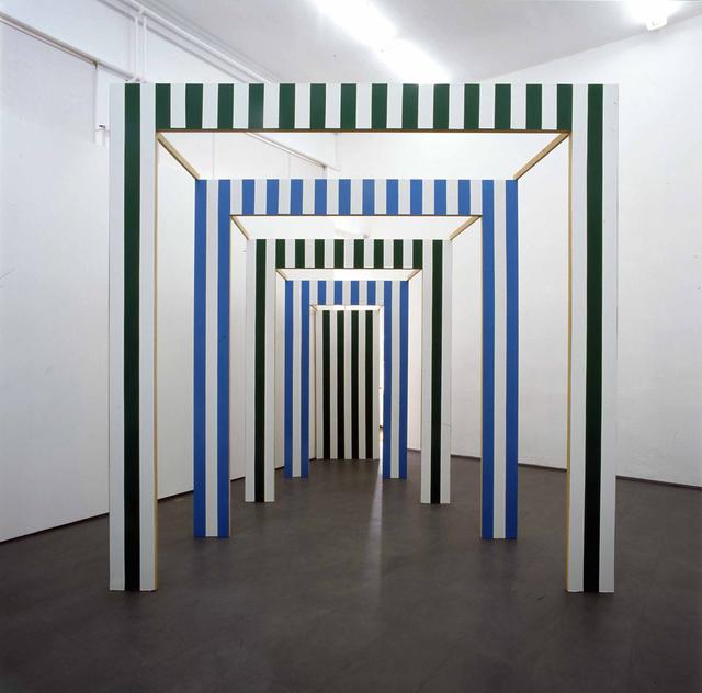 , 'Le Carré Eclaté ,' 1992, Studio Dabbeni