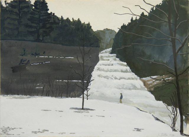 John Button, 'Buttermilk Falls, Ithaca, NY', 1982, ClampArt