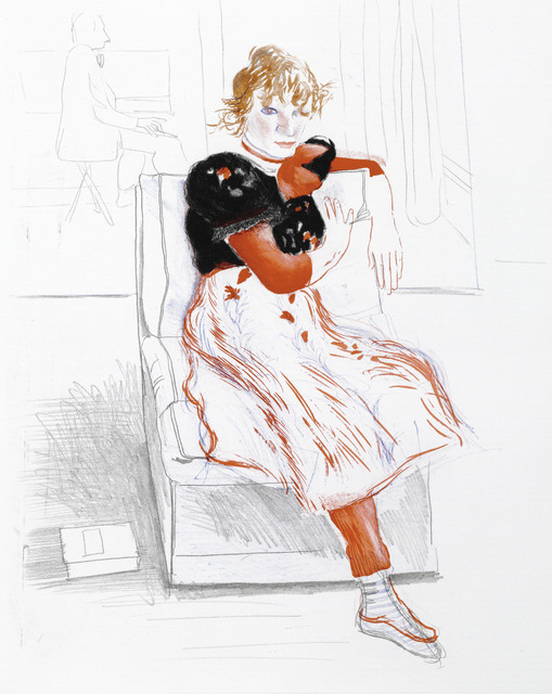 David Hockney, 'Celia Observing', 1976, Christie's