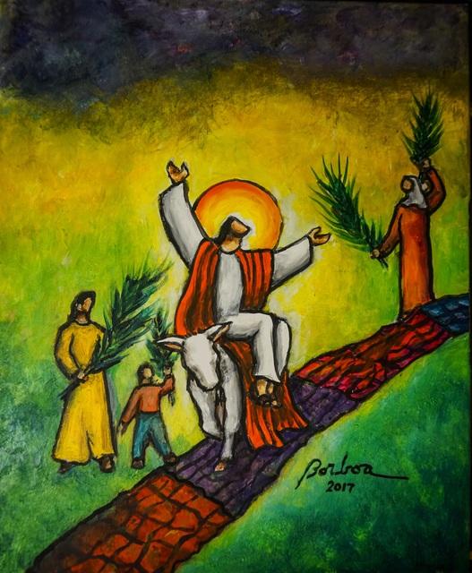 , 'Triumph Entry into Jerusalem 耶穌榮進聖京,' , Artrue Gallery