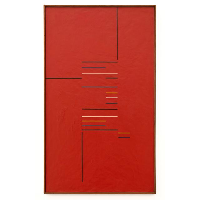 , 'Composição em Vermelho,' 1955, LURIXS: Arte Contemporânea