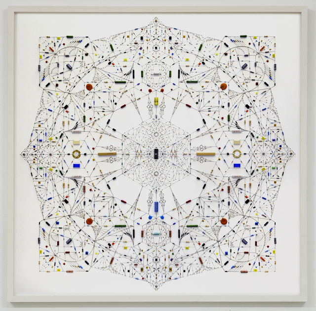 , 'Technological mandala 30_inner chamber,' 2015, The Flat - Massimo Carasi