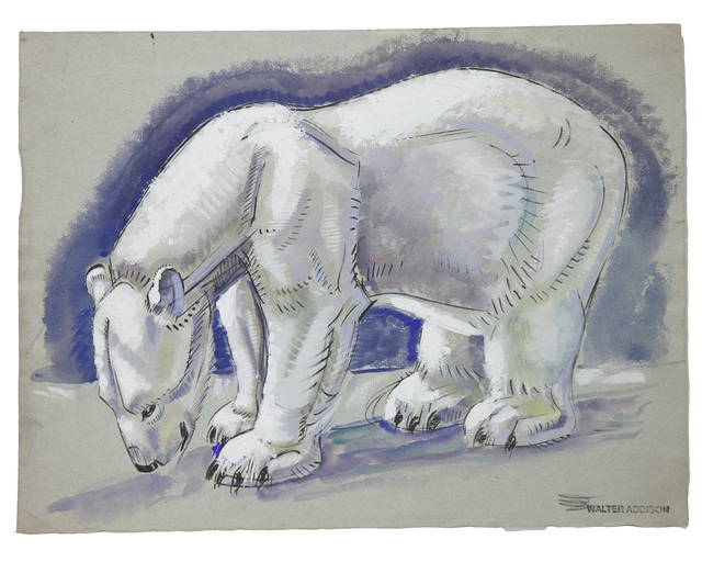 , 'Bears: Polar Bear Standing,' 1940, Cade Tompkins Projects