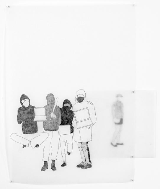 , 'Les Métamorphes #1,' 2012-2015, Officine dell'Immagine