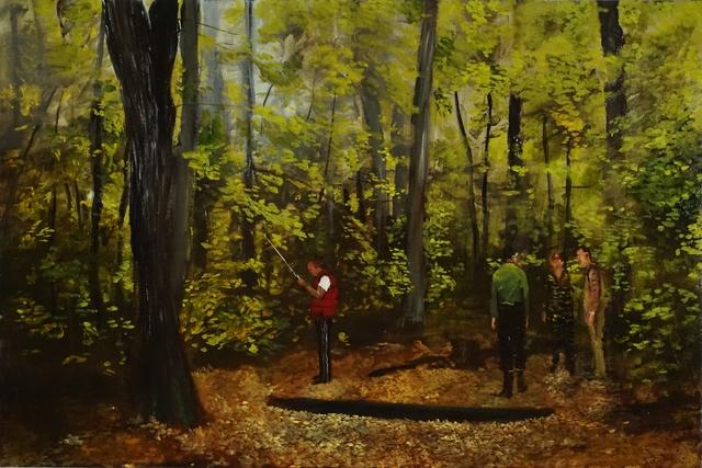 , 'Figures With a Device,' 2017, Studio 21 Fine Art
