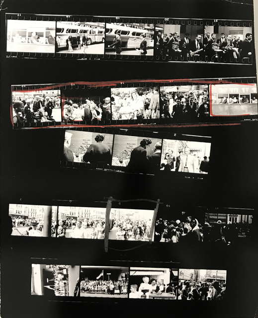 , 'Contact Sheet #18 ,' 2009, Danziger Gallery