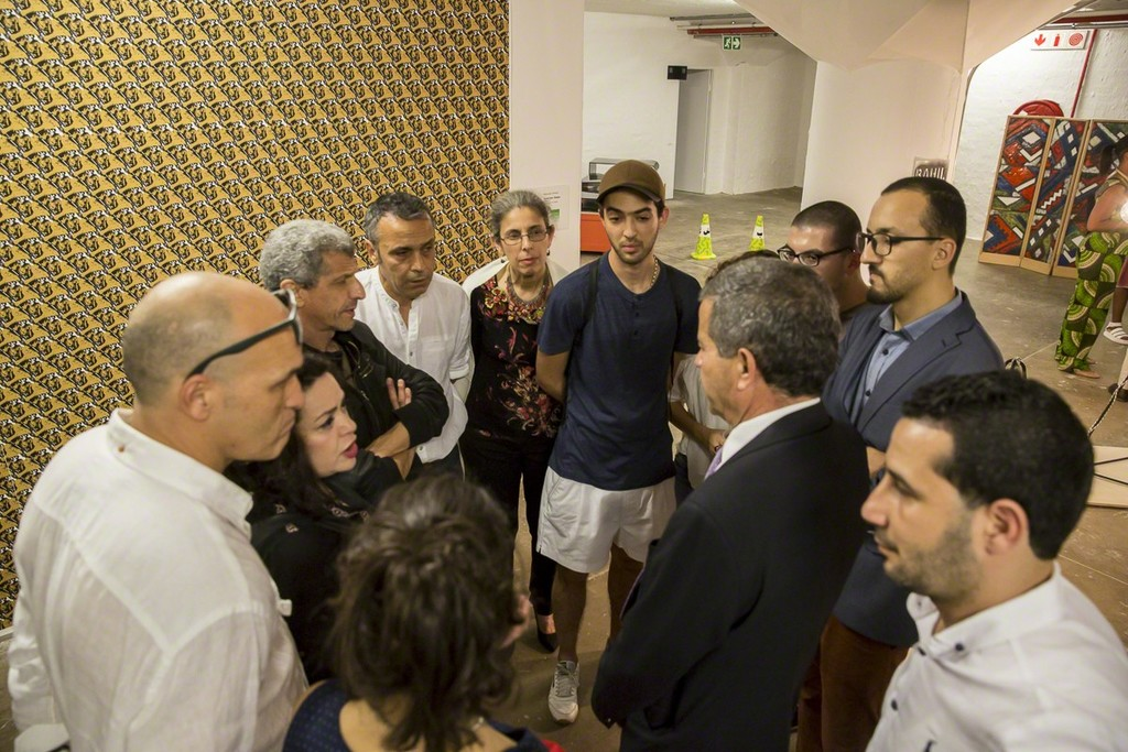 Algerian Designers with Algerian Ambassador in Johannesburg